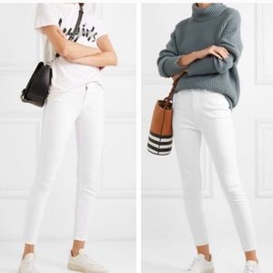 J crew white high rise skinny toothpick jeans 28